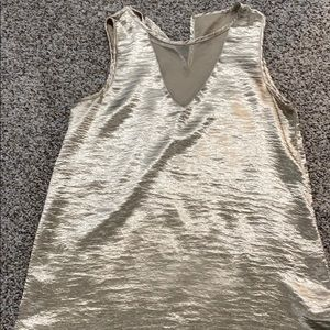 Gold Metallic Tank